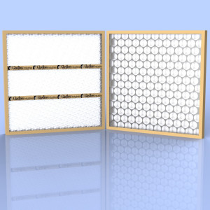 Disposable Panel Filters in Fiberglass & Poly